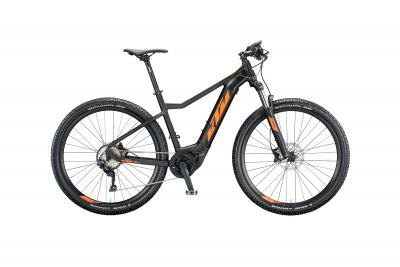 KTM MACINA RACE 291 black matt (orange)
