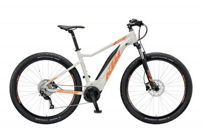 KTM MACINA RIDE 292 lightgrey matt (orange) 2019
