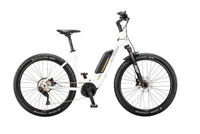 KTM MACINA SKAUD 272 white matt (grey yellow)