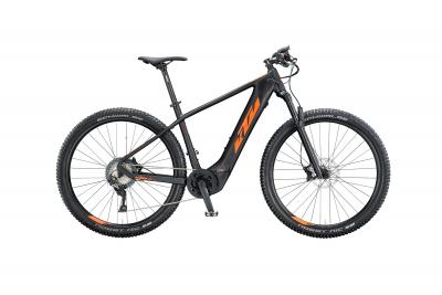 KTM MACINA TEAM 292 black matt (orange glossy)