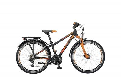 KTM WILD ONE 24.18 ATB black matt (orange)