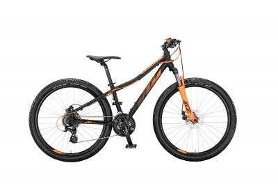 KTM WILD SPEED 26 DISC black matt (orange) 2020