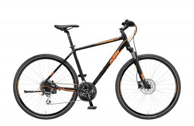 KTM LIFE TRACK 24 Disc black matt (orange)