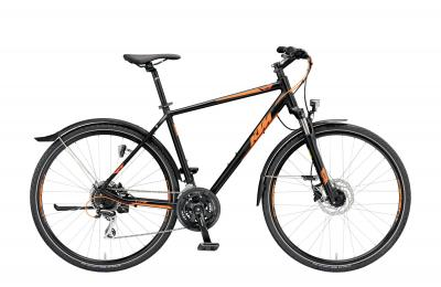 KTM LIFE TRACK STREET black matt (orange)
