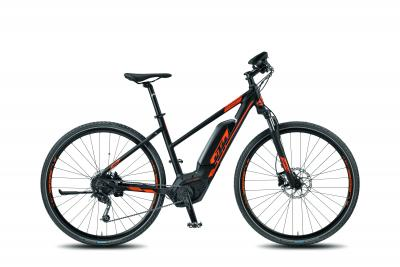 KTM MACINA CROSS 9 CX4 DA black matt (orange) 2018