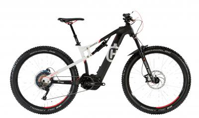 Husqvarna MC5 - MTB Full Suspension 27,5 500Wh -  white matt, black/neon red 2018