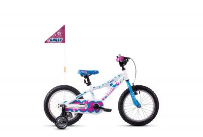 GHOST POWERKID AL 16 K star white / riot blue / dark fuchsia pink 2020