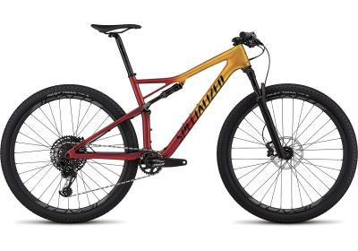 Specialized Men's Epic Expert Gloss Gold Flake/Candy Red/Cosmic Black 2018