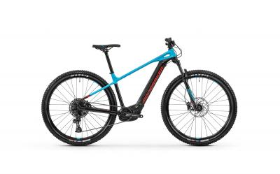 Mondraker PRIME + Black - Light Blue - Flame Red 2020 - 27,5 -