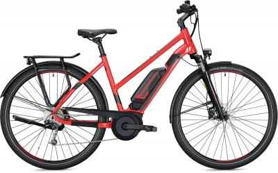 Morrison E 6.0 500 red, shiny 2020 - 500Wh 29 Trapez -