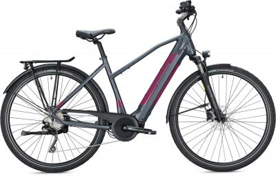 Morrison E 7.0 grey metallic-berry, matt 2020 - 500Wh 29 Trapez -