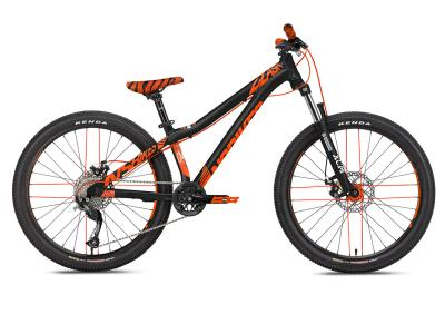 NS Bikes Clash 24 black/orange