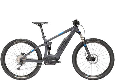 Trek Powerfly 5 FS Plus Matte Solid Charcoal/Trek Black 2018 - 27.5 -