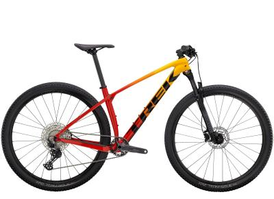 Trek Procaliber 9.5 Marigold to Radioactive Red Fade 2021