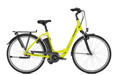 Raleigh DOVER 7 limegreen glossy 2018 - 28 Wave RT 396 Wh -