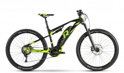 Raymon E-Nine TrailRay 8.0 - MTB Full Suspension 29 -  black/black/green 2019