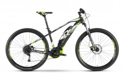 Raymon E-Nineray 4.5 - MTB Hardtail 29 -  black/white/green 2019