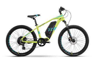 Raymon FourRay E 1.0 Lime / Cyan  2021 - 300Wh 24