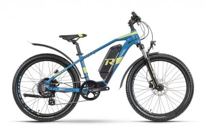 Raymon FourRay E 1.5 Street Darkblue / Lime  2021 - 300Wh 24