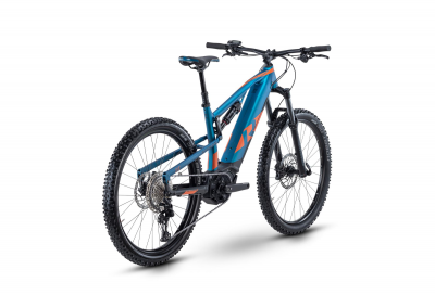 Raymon FullRay E-Seven 7.0 Spaceblue / Magma Matt  2021 - 500Wh 27,5