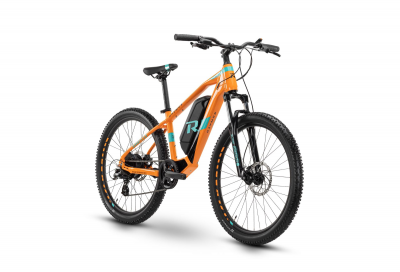 Raymon SixRay E 1.0 Orange / Cyan  2021 - 300Wh 26