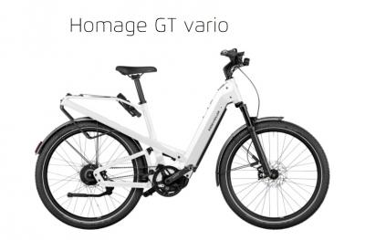 Riese und Müller Homage GT Vario, 625Wh, ABS, Nyon, RX, Pearl White