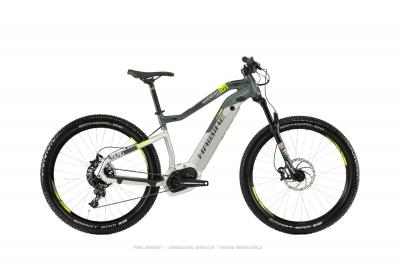 Haibike SDURO HardSeven Life 8.0 Silber/Oliv/Gelb