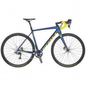 Scott Addict CX RC chameleon blue / purple / yellow 2020 - 28 -