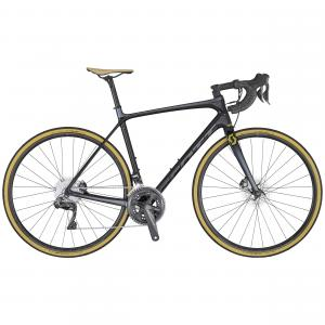 Scott Addict SE disc pearl black / tone dark grey / gold 2020 - 28 -