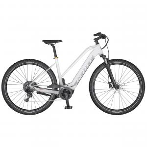 Scott Sub Cross eRIDE 10 Lady white / silver / apple gold 2020 - 625Wh 28 -