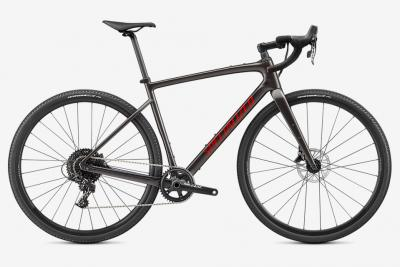 Specialized Diverge Base Carbon Gloss Smoke / Redwood / Chrome  2021 - 28