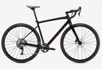 Specialized Diverge Comp E5 Tarmac Black / Satin Maroon / Chrome  2021 - 28