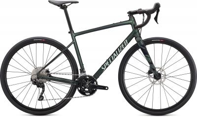 Specialized Diverge Elite E5 Oak Metallic Green / Spruce / Chrome / Wild Ferns  2021 - 28