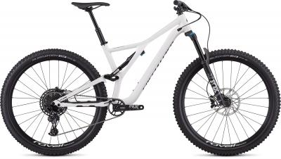 Specialized Men's Stumpjumper Comp Alloy 29 - 12-speed - 29 -  Gloss White / Tarmac Black 2019