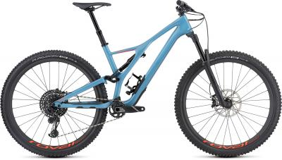 Specialized Men's Stumpjumper Expert 29 - 29 -  Gloss / Storm Grey / Rocket Red 2019