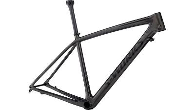 Specialized Men's S-Works Epic Hardtail Frame Gloss Charcoal Tint Carbon/Black 2018