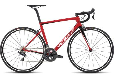 Specialized Men's Tarmac SL6 Expert Flo Red/Metallic White Silver/Tarmac Black 2018
