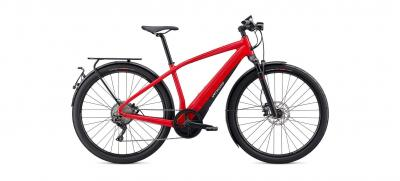 Specialized Turbo Vado 6.0 Flo Red W/Blue Ghost Pearl 2020 - 28 600 Wh -
