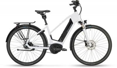 Stevens E-Courier Luxe - Lady 500Wh -  Carrara White 2019