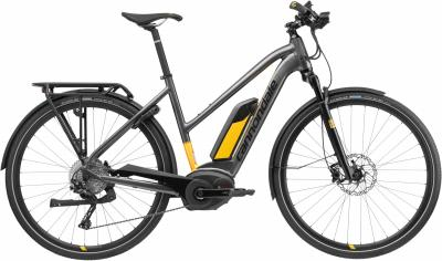 Cannondale Tesoro Neo WOMEN'S 1 ANT Anthracite w/ Jet Black and Canary - Gloss 2018