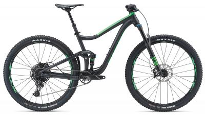 Giant Trance 2 29er Metallicblack-Flashgreen Matt-Gloss 2019