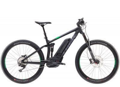 Trek Powerfly 8 FS Plus Matte Trek Black/Green-light 2017 - 27.5 -