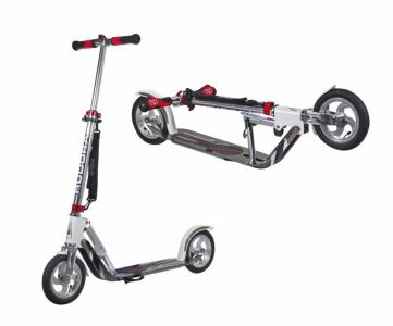 City Scooter Big Wheel Air Hudora Alu 8 205 Air weiß/silber 205mm Auswahl