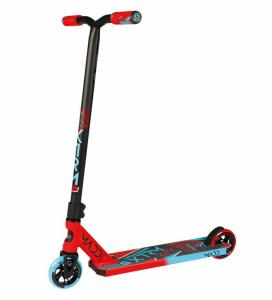 Stuntscooter Madd Kick Extreme rot/blau Rolle 110mm Auswahl