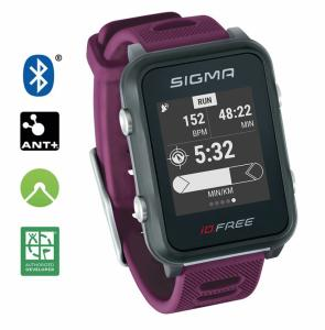 Sport Uhr Sigma ID Free - Farbe: pflaume Auswahl