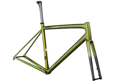 Specialized S-Works Aethos Frameset Gloss Snake Eye Chameleon/Monocoat Black 2021 - Diamant -