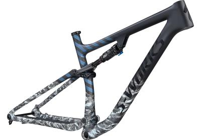 Specialized S-Works Epic EVO Frameset SATIN FLAKE SILVER/CAST BLUE METALLIC 2021 - Diamant -