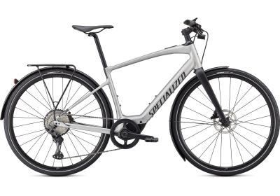Specialized Turbo Vado SL 5.0 EQ Brushed Aluminum / Black Reflective 2021 - 28