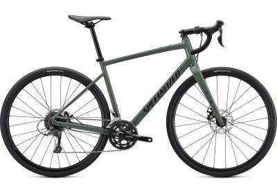 Specialized Diverge Base E5 Gloss Sage Green/Forest Green/Chrome/Clean 2021 - 28