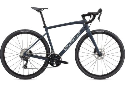 Specialized Diverge Sport Carbon Satin Cast Blue Metallic/Ice Blue/Chrome/Clean 2021 - 28